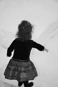 Lyla in Snow